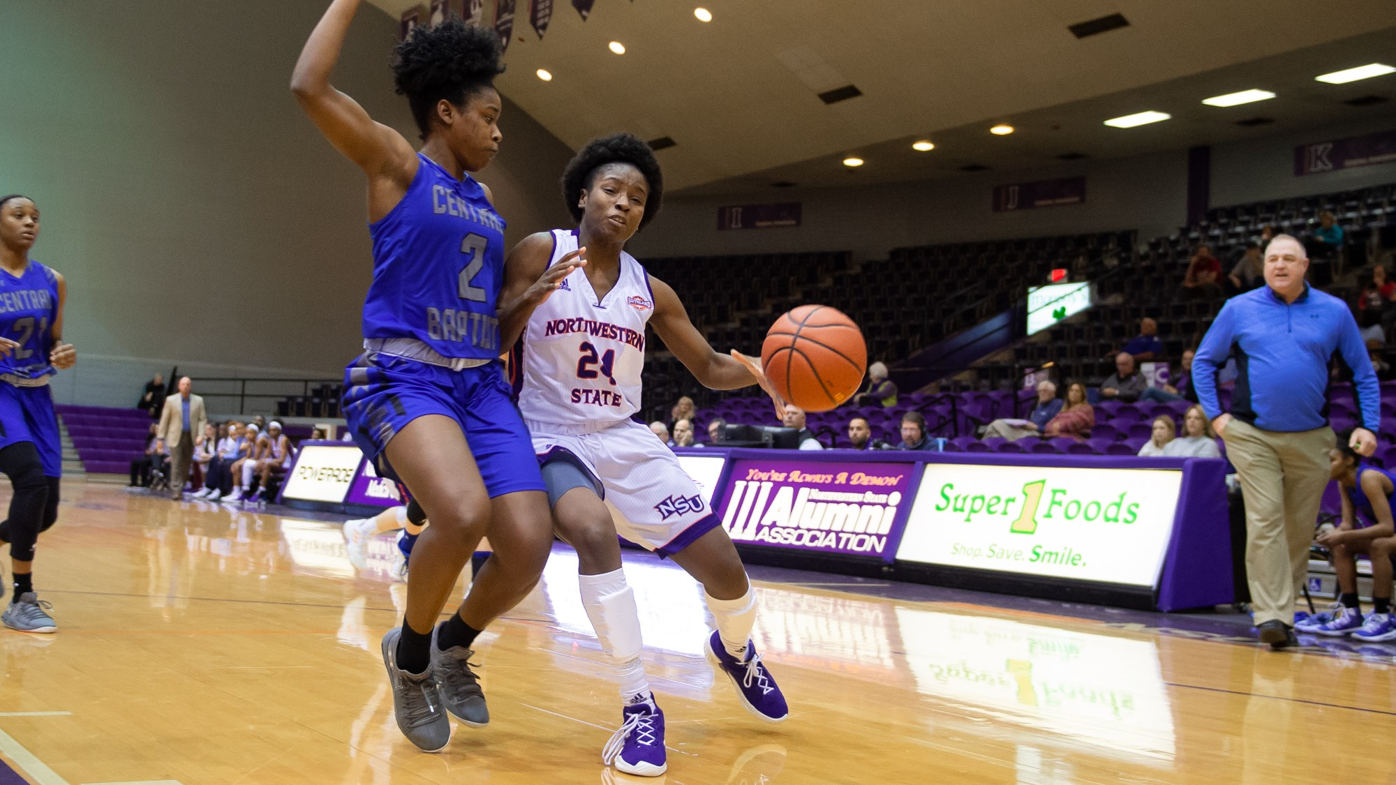 new products f4425 3e22b Late surge not enough for Lady Demons to knock off Nicholls ...